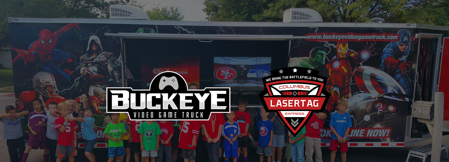 Our Video Games for game truck parties in Ohio