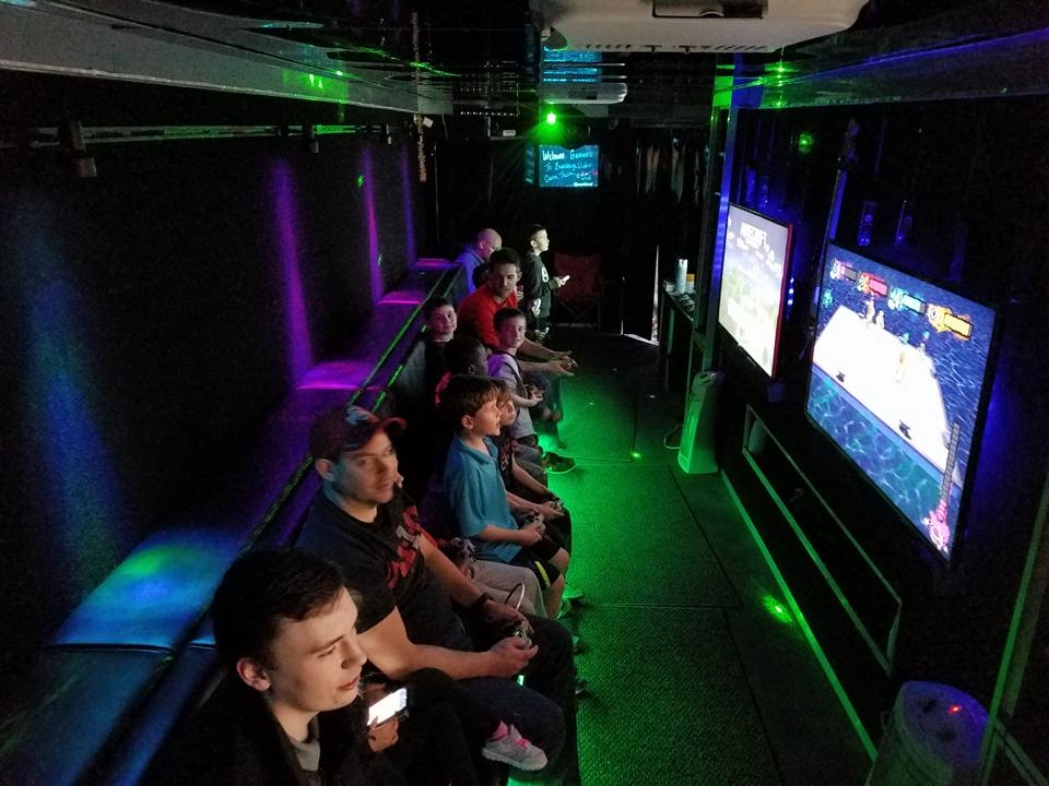 Unique Birthday Party Ideas A Mobile Video Game Truck
